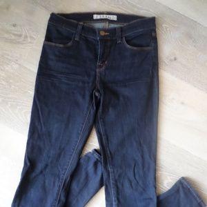 J Brand Jeans - J Brand Maria Starless Dark Wash Skinny Jeans